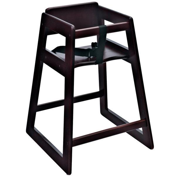 Attirant Koala Kare KB800 29 KD Woodrow Ready To Assemble Stackable Wood High Chair  With Mahogany Finish