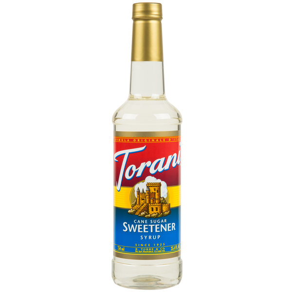 Torani 750 mL Cane Sugar Flavoring Syrup Main Image 1