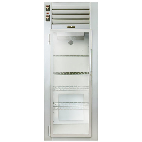 Traulsen AHF132W-HHG 24.8 Cu. Ft. Glass Half Door Single Section Reach In Heated Holding Cabinet - Specification Line Main Image 1