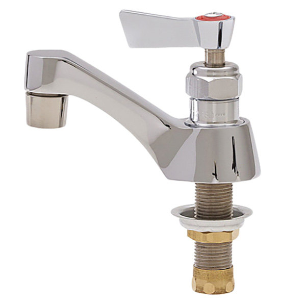 """Fisher 1731-1 Deck Mounted Faucet with 3 1/2"""" Rigid Nozzle, 0.35 GPM PCA Spray Outlet, and Lever Handle (Left-Handed Stem)"""