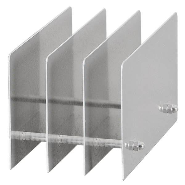 sc 1 st  WebstaurantStore & Berkel ACCY-RACK3 Three Plate Storage Rack