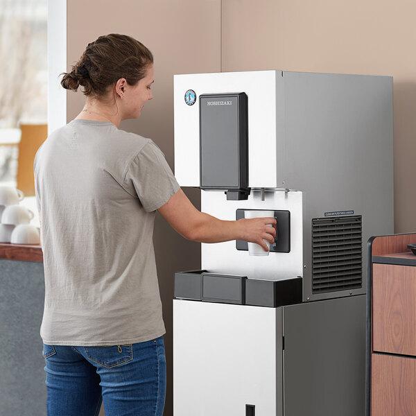 Hoshizaki DCM-270BAH-OS Opti-Serve Countertop Ice Maker and Water Dispenser - 8.8 lb. Storage Air Cooled Main Image 5