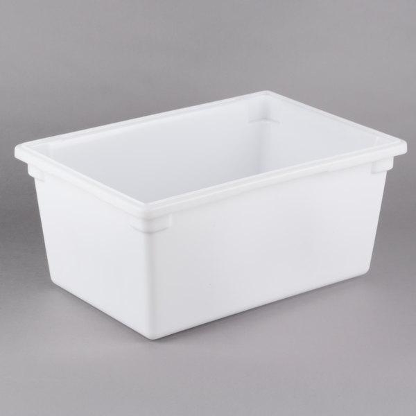 White Plastic Food Storage Box