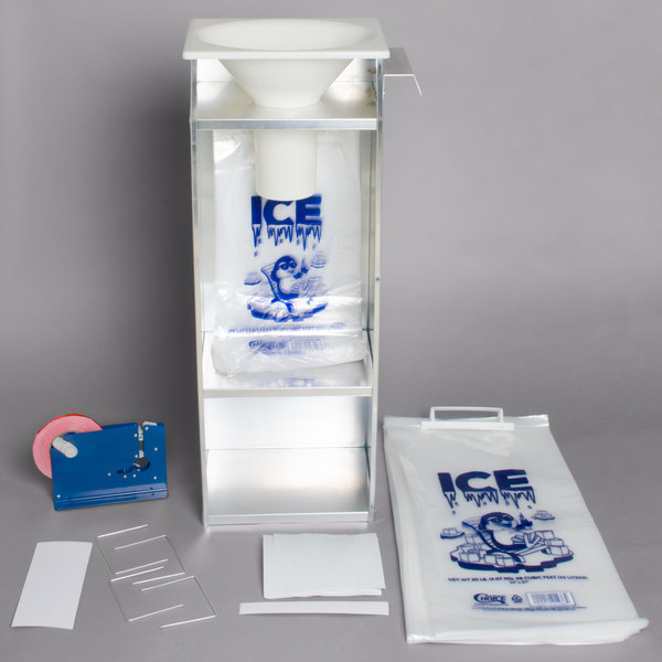 Regency Ice Bagger Starter Kit For 20 Lb Bags