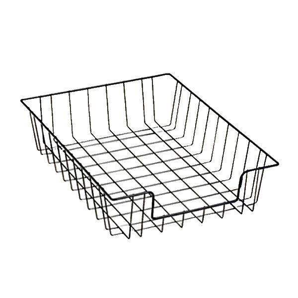 Fellowes 60112 14 18 X 10 X 3 Black Wire Desk Tray Organizer