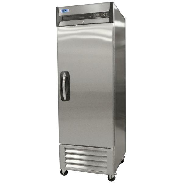 "Nor-Lake NLR23-S AdvantEDGE 27 1/2"" Single Solid Door Reach-In Refrigerator - 23 Cu. Ft."