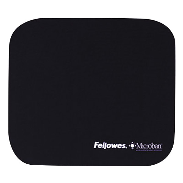 Fellowes 5933801 Navy Mouse Pad with Microban Protection