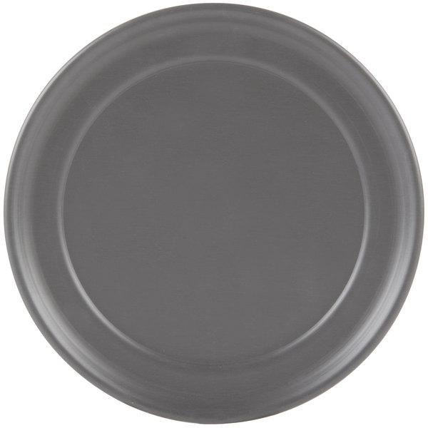 "American Metalcraft HCTP7 7"" Hard Coat Anodized Aluminum Wide Rim Pizza Pan"