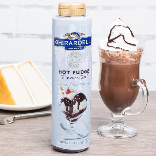 Ghirardelli Squeeze Bottle Milk Chocolate Hot Fudge