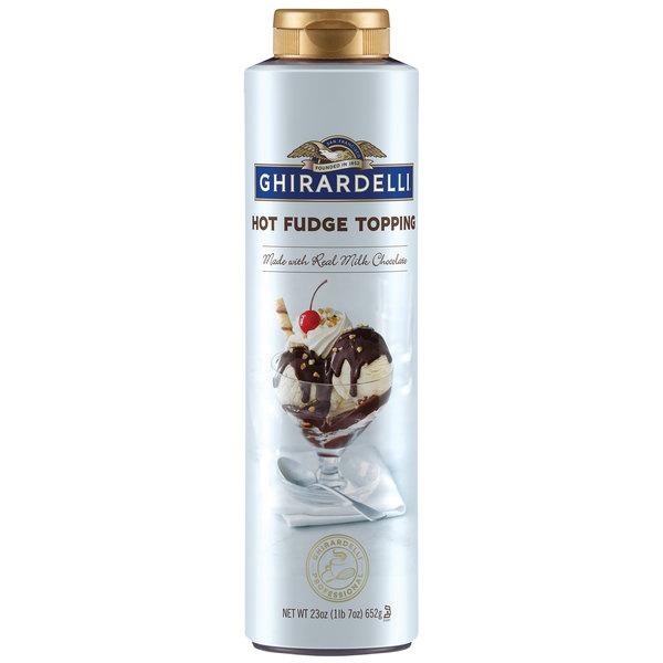 Ghirardelli Squeeze Bottle Milk Chocolate Hot Fudge Main Image 1