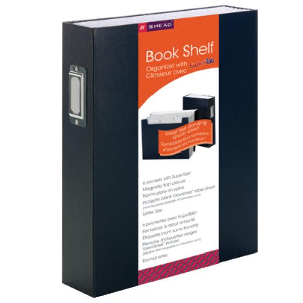 Smead 70867 SuperTab Letter Size 6 Pocket Expanding Bookshelf Organizer
