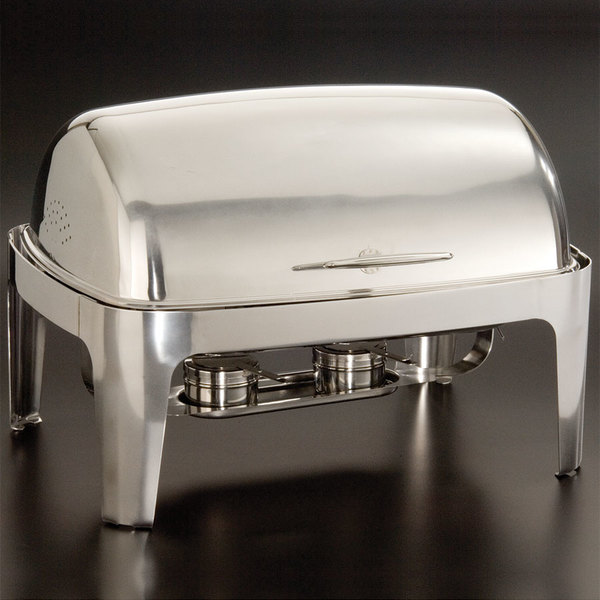American Metalcraft ADAGIORT26 9 Qt. Adagio Stainless Steel Chafer Main Image 1