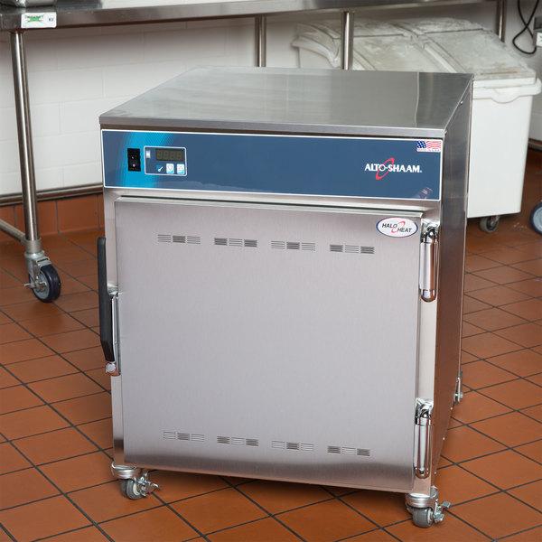 Alto-Shaam 750-S Holding Cabinet - Mobile Holds 10 Food Pans, 208/240V