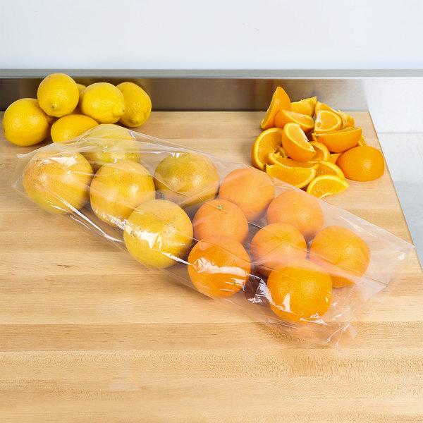 "Plastic Food Bag 5 1/2"" x 4 3/4"" x 22"" - 1000/Box"