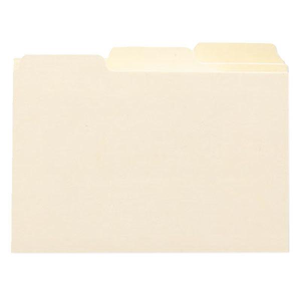 Manila Oxford 4635 Laminated Tab Index Card Guides 25//Set 4 x 6 Alpha 1//5 Tab