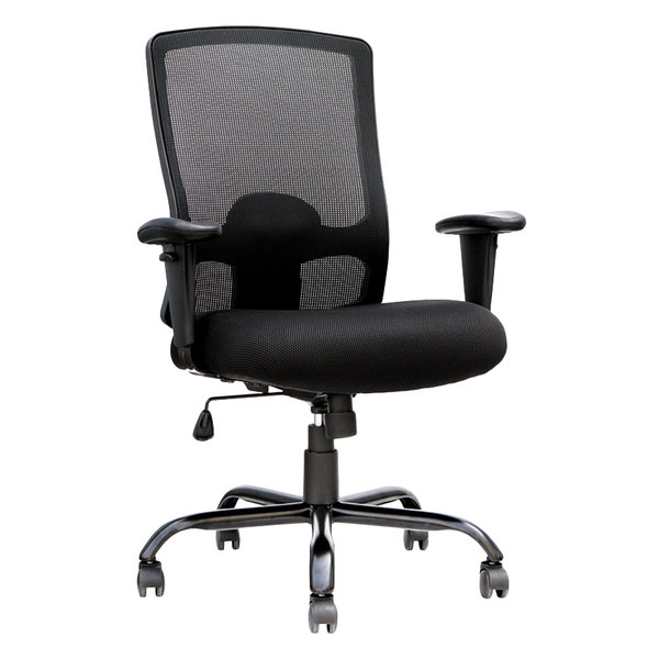 Fine Eurotech Bt350 Big And Tall Black Mesh High Back Swivel Office Chair Inzonedesignstudio Interior Chair Design Inzonedesignstudiocom
