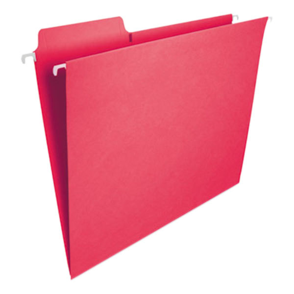 Smead 64096 FasTab Letter Size Hanging File Folder - 20/Box Main Image 1