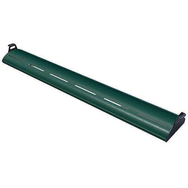 "Hatco HL5-36 Glo-Rite 36"" Hunter Green Curved Display Light with Warm Lighting - 9.2W, 120V"