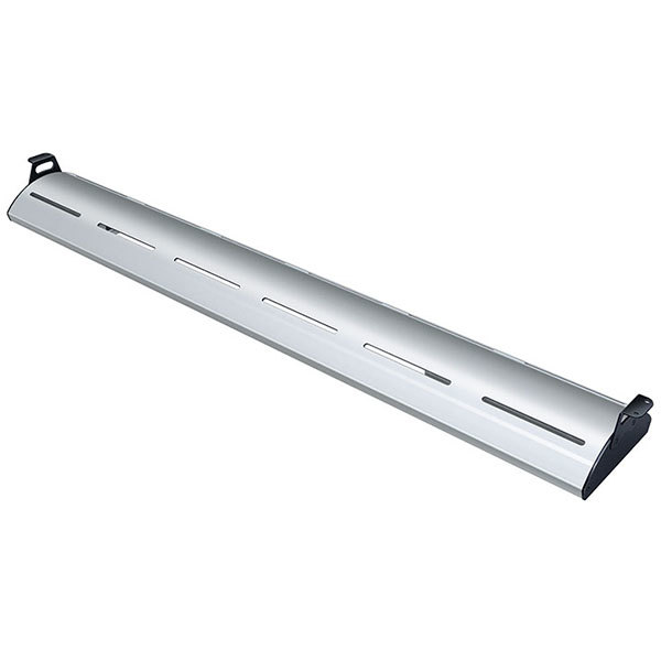 """Hatco HL5-18 Glo-Rite 18"""" Anodized Curved Display Light with Warm Lighting - 4.3W, 120V"""