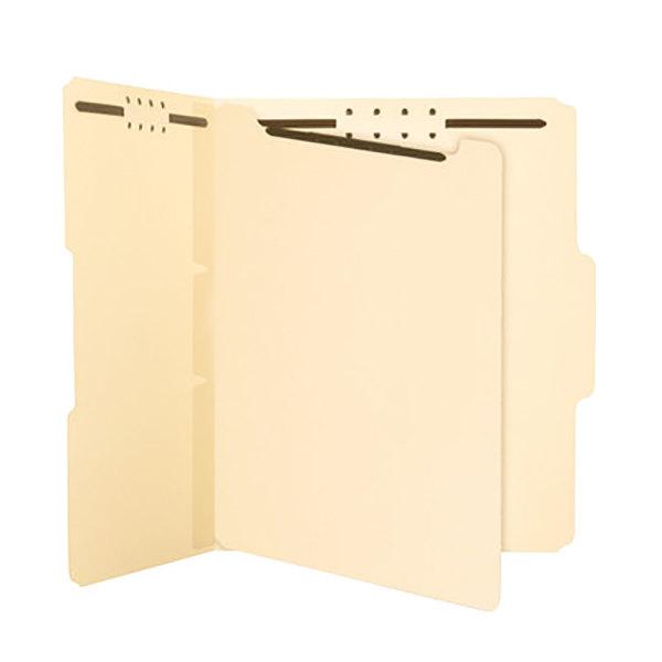 "Discount Smd68025 Smead 68025 Smead Self Adhesive Folder: Smead 68025 8 1/2"" X 11"" Manila Self-Adhesive 2 Section"