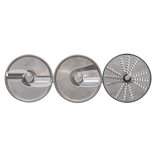 Hobart 15PLATE-3PACK-SS 3 Plate Kit with Wall Rack Main Image 1