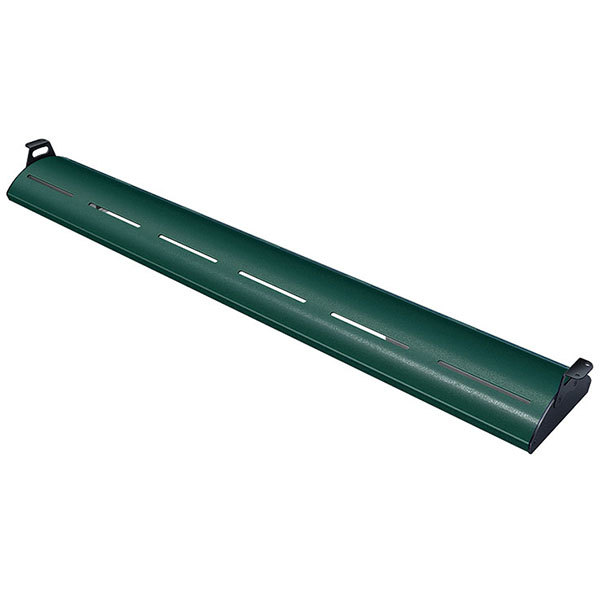 "Hatco HL5-66 Glo-Rite 66"" Hunter Green Curved Display Light with Warm Lighting - 17.3W, 120V"