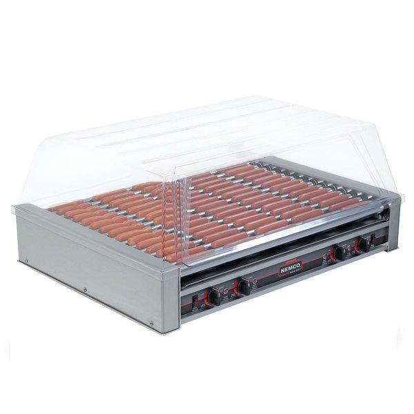 Nemco 8075-220 Hot Dog Roller Grill - 75 Hot Dog Capacity (220V)