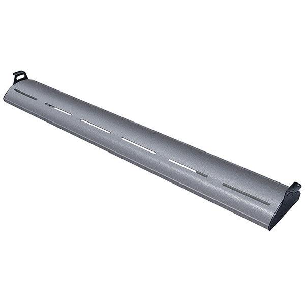"Hatco HL5-60 Glo-Rite 60"" Gray Granite Curved Display Light with Warm Lighting - 15.7W, 120V"