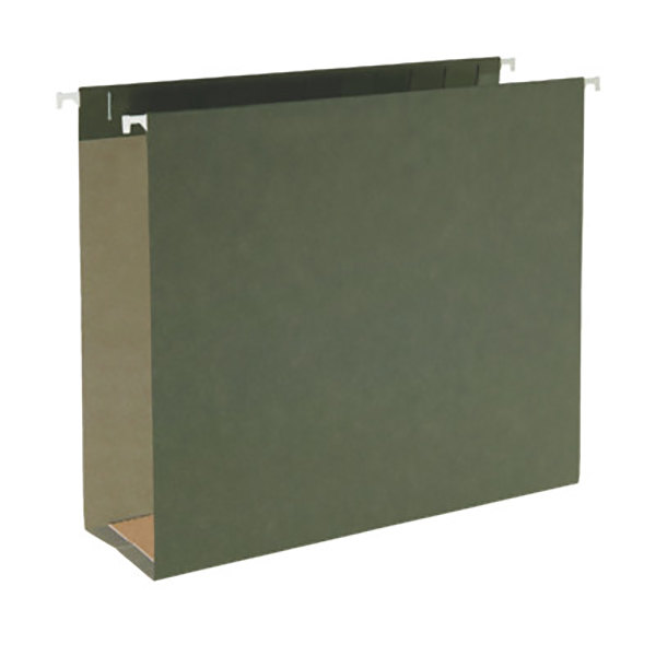 Smead 64279 letter size box bottom hanging file folder for Smead letter size file folders