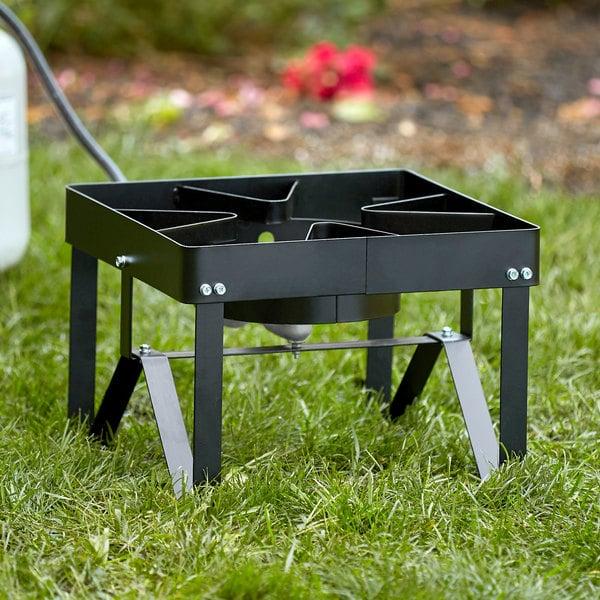 Backyard Pro Square Single Burner Outdoor Patio Stove / Range - 55,000 BTU Main Image 2