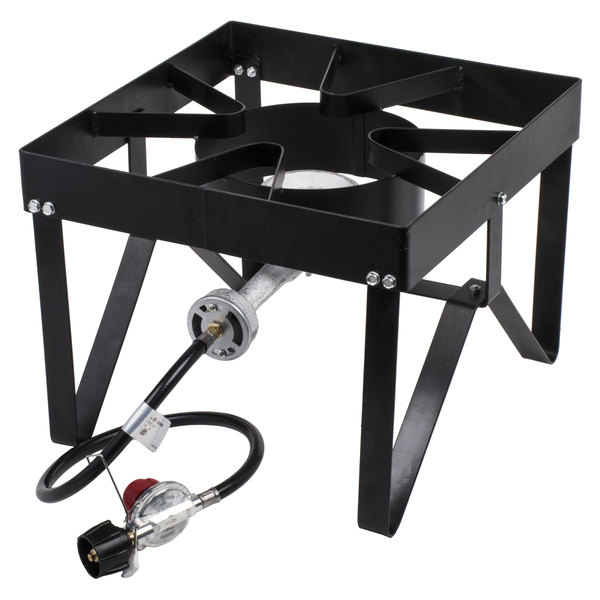Superb Backyard Pro Square Single Burner Outdoor Patio Stove / Range   55,000 BTU