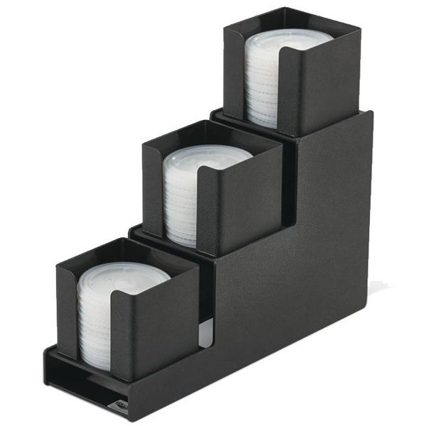 Vollrath Vl 3 Traex Countertop 3 Column Black Lid Holder