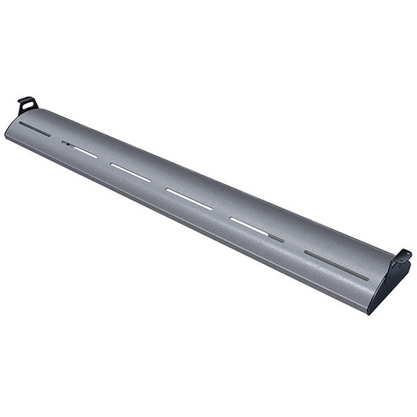 """Hatco HL5-18 Glo-Rite 18"""" Gray Granite Curved Display Light with Cool Lighting - 4.3W, 120V"""