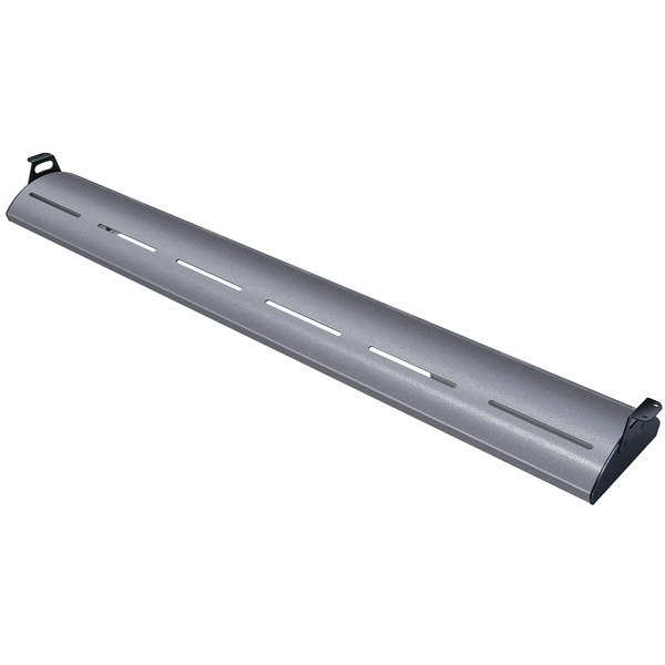 """Hatco HL5-42 Glo-Rite 42"""" Gray Granite Curved Display Light with Cool Lighting - 10.8W, 120V"""
