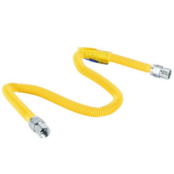 "T&S HG-SD-48 Safe-T-Link 48"" Stationary Gas Connector Hose - 3/4"""