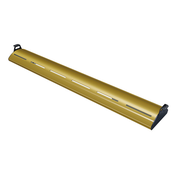 """Hatco HL5-42 Glo-Rite 42"""" Gleaming Gold Curved Display Light with Cool Lighting - 10.8W, 120V"""
