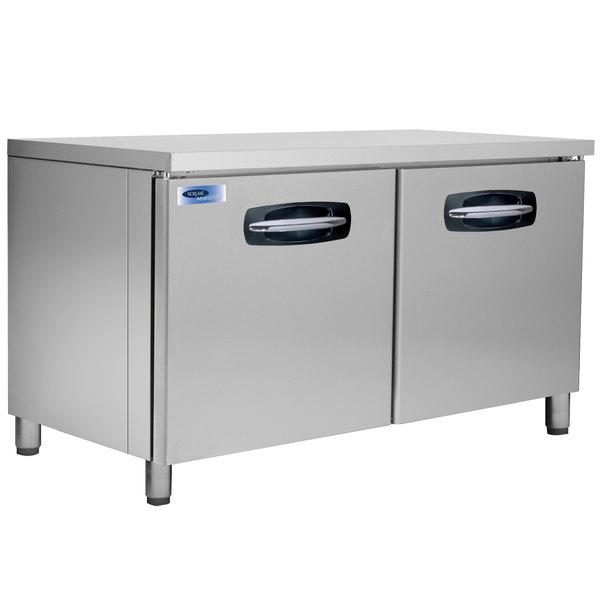 "Nor-Lake NLUF60A-013 AdvantEDGE 60"" Undercounter Freezer with 6"" Legs - 16.2 Cu. Ft."