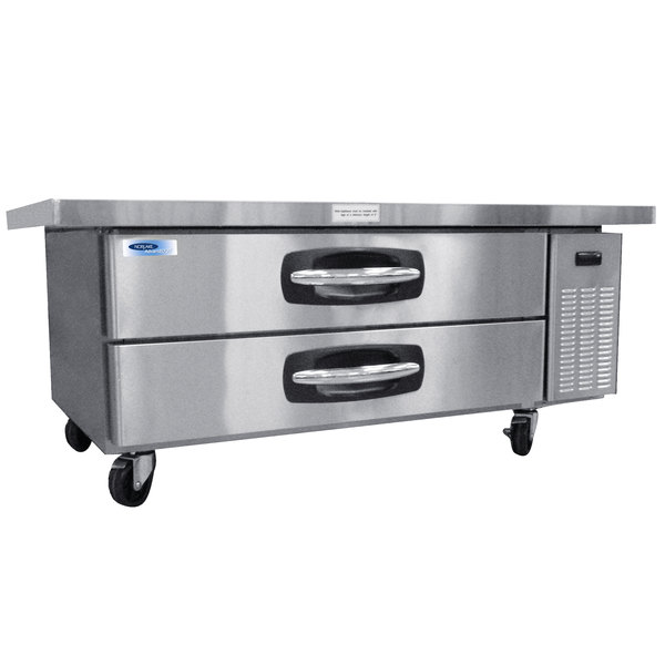 "Nor-Lake NLCB60 AdvantEDGE 60"" 2 Drawer Refrigerated Chef Base Main Image 1"