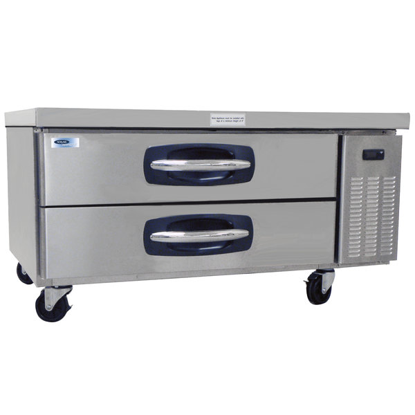 "Nor-Lake NLCB48 AdvantEDGE 48"" 2 Drawer Refrigerated Chef Base"