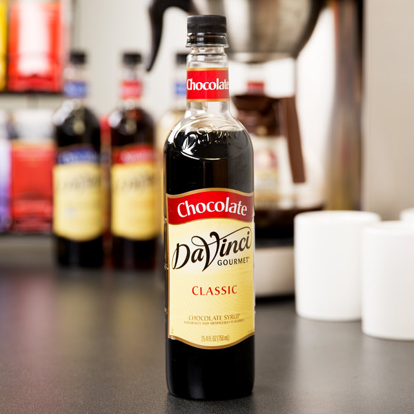 DaVinci Gourmet 750 mL Classic Chocolate Flavoring Syrup