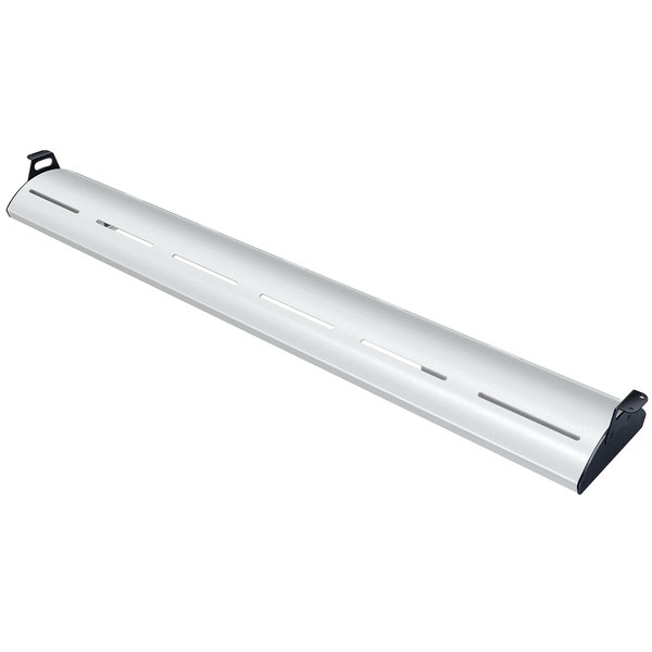 """Hatco HL5-30 Glo-Rite 30"""" Glossy Gray Curved Display Light with Cool Lighting - 7.6W, 120V"""