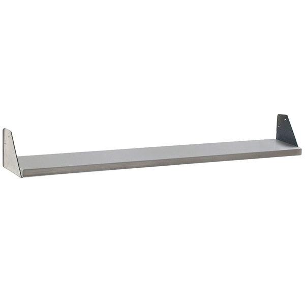 "Eagle Group 353986 Stainless Steel Dish Shelf - 48"" x 8"" Main Image 1"
