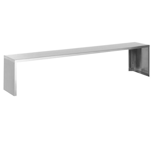 """Eagle Group SS-HT6 94 1/2"""" x 10"""" Stainless Steel Serving Shelf Main Image 1"""