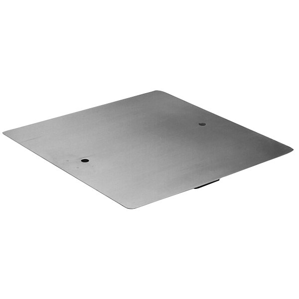 """Eagle Group 321558 Stainless Steel Sink Cover for 24"""" x 24"""" Bowls Main Image 1"""