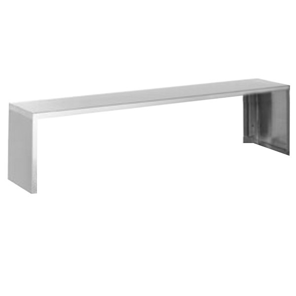 "Eagle Group SS-HT5 79"" x 10"" Stainless Steel Serving Shelf"