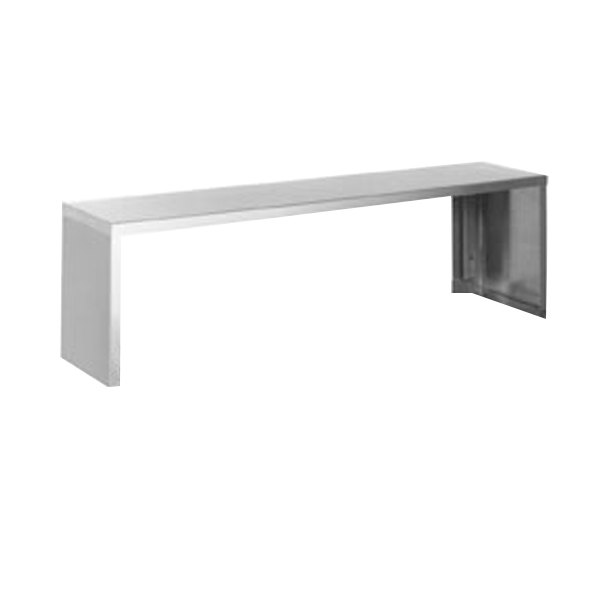 """Eagle Group SS-HT3 48"""" x 10"""" Stainless Steel Serving Shelf Main Image 1"""