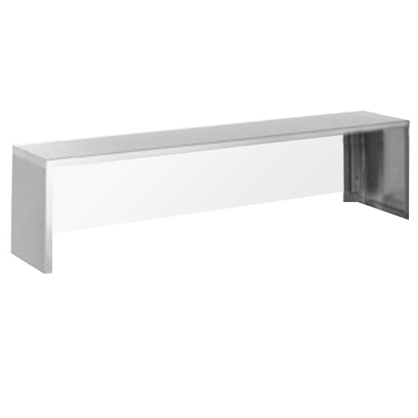 """Eagle Group SSP-HT5 79"""" x 18"""" Stainless Steel Serving Shelf Main Image 1"""
