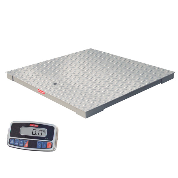 Tor Rey PLP-4/4-2500/5000 Pro-Tek 5000 lb. 4' x 4' Platform Receiving Scale