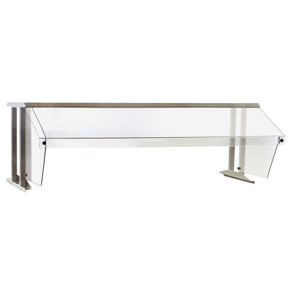 """Eagle Group BS1-HT3 Stainless Steel Buffet Shelf with Sneeze Guard - 48"""" x 25 5/8"""" Main Image 1"""