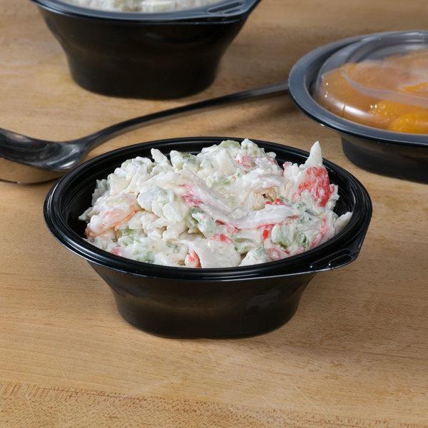 Fabri-Kal FC6B SideKicks 6 oz. Microwaveable Side Dish Bowl / Container - 75/Pack Main Image 6